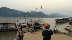 Laos / Luan Prabang - Motorbike trip to Kuang Si Falls