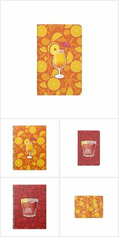 Journals and notepads with popular cocktail illustration. Need help customizing one of our designs? We will design it for you and post it for sale ASAP. My Images, Cocktails, Create, Gifts, Home Decor, Craft Cocktails, Presents, Decoration Home, Room Decor