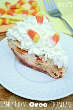Candy Corn Oreo Cheesecake 1b