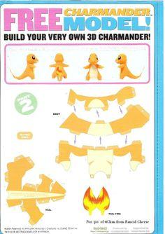 Pokemon Papercraft Templates | Jetlogs.org » Charmander Papercraft