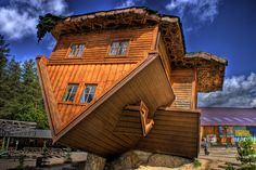 The Upside Down House in Poland