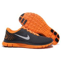 cheap for discount c7a3f 837e0 Nike Free Cool Grey Reflective Silver Total Orange Women s Running Shoes  com cheap nike shoes