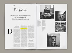 Magazin der Kulturstiftung des Bundes Magazine of the Federal Cultural Foundation Poster Design, Logo Design, Web Design, Editorial Design Layouts, Magazine Layout Design, Brochure Layout, Brochure Design, Magazin Covers, Magazin Design