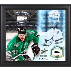 "Tyler Seguin Dallas Stars Fanatics Authentic Framed 15"" x 17"" Mosaic Collage with Piece Of Game-Used Puck-Limited Edition of 99 - $89.99"