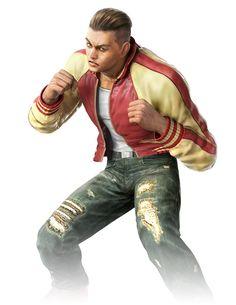 Isaak Alternate Costume from Tekken Mobile