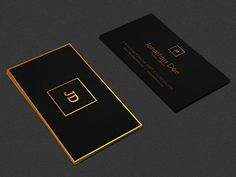 Luxury Gold Metal Business Card
