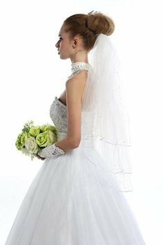 V16 Two Layers Wedding Veil 150 Meters with Comb Luxury Fashion Designer Wedding Veil Pearls LondonProm, http://www.amazon.co.uk/dp/B00KTI0GQG/ref=cm_sw_r_pi_dp_SUWQtb119T232