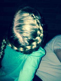 Diagonal braid Braids, Hairstyles, Haircut Designs, Cornrows, Pigtail Hairstyle, Hairdos, Hair Styles, Plaits, Braid Out