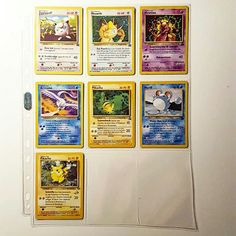 Old Pokémon promo cards!