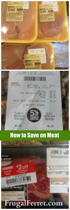 how to save on meat at the grocery store