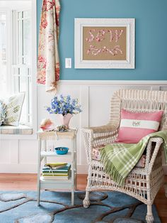 Typically trimwork is more decorative than functional, but there are exceptions: Chair rail prevents the backs of chairs from damaging the wall surface, and picture rail, installed at the top of a wall, offers a surface for hanging artwork. An extra-deep-profile chair rail can double as a picture ledge, creating a casual gallery space that can accommodate changing arrangements of framed art.