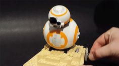 A Clever Star Wars fan Figured Out How to Build a Tiny Rolling BB-8 Using Only