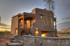 New Mexico home.