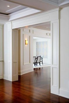 define openings with cased opening - millwork