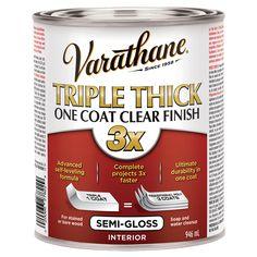Varathane Triple Thick One Coat Clear Semi Gloss Finish 286447 Rona Varathane Clear Finish It Is Finished