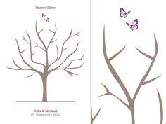 Wedding Tree Butterflies (PDF)