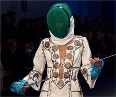 Fencing Style Fashion with khaled El Masri