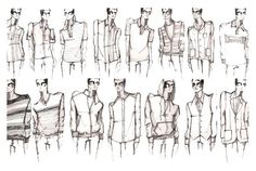 men's fashion sketches , some stunning shirts , jackets , pullovers , sweaters
