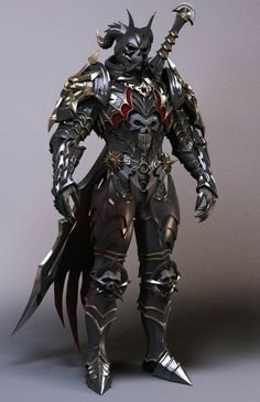 On now that's just an awesome armor design.