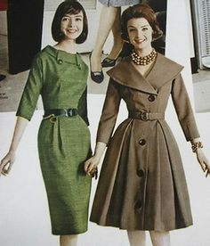 1959. what I wouldn't give to dress like this all the time!!