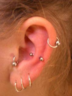 Multi piercings