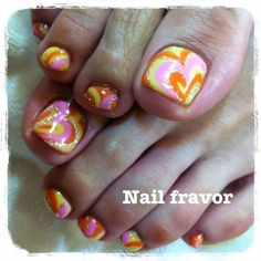 cute toes for Valentines Day! #FXProm
