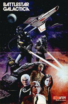space1970: BATTLESTAR GALACTICA (1978) Fan Magazine Poster