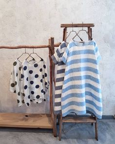 Ready for summer. #dots #blouse #top #linen #stripe #tunicdress #2colours #summer #comfy #design #style #fashion #toolz #melbourne #clothing #shop #collingwood #夏服 #メルボルン