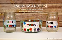 Looking for a fun way to teach your children about kind speech? Most children need the helpful reminders and encouragement to choose kind words over mean wo
