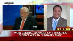 "8/26/15 - Jeff Marks, the general manager at WDBJ-TV, said the former reporter who is suspected of killing two of the station's journalists ""was an unhappy man."""