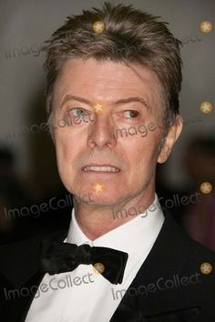 New York, NY 05-07-2007 David Bowie attends the Costume Instutute Gla…
