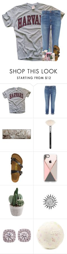 """at the doctor rtd "" by theblonde07 ❤ liked on Polyvore featuring J Brand, Urban Decay, ZOEVA, Birkenstock, ARI and Casetify"