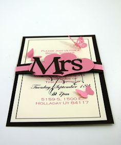 How to make these Bridal Shower invites