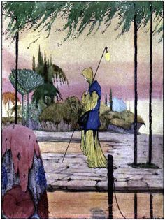 Art by Harry Clarke (1920).