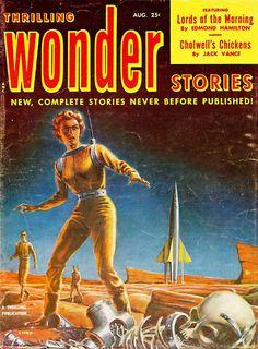 Pulp Sci Fi Fantasy Cover Art Ed Emshwiller Pulp Magazine Magazine Art