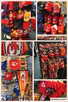 It's a sea of red!  Get Chiefs gear at this local store!  #brantsclothing