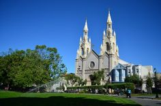 Saints Peter and Paul church Washington Square San Francisco | San Francisco, CA