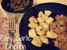 Easy Garlic Chicken