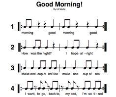 recorder composition worksheet for fourth (3rd) grade. I