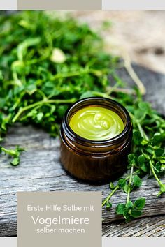 Chickweed healing effect & ointment make ourselves - we use there Vogelmiere Heilwirkung & Salbe selber machen – nutzen wir das wertvolle Wildkraut! Healthy Life, Healthy Living, Diy Beauté, Wound Healing, Medicinal Herbs, Natural Cosmetics, Vitamins And Minerals, Natural Living, Good To Know