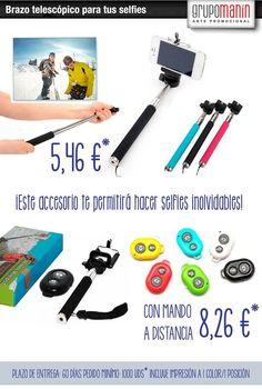 Brazo telescópico para selfies