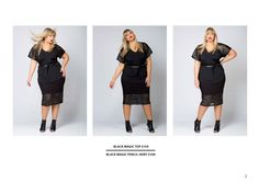 Put a little Black Magic into your life 🔥🔥🔥 Wow Factor, Ss 15, Single Piece, Black Magic, Lbd, Curves, Short Sleeve Dresses, Two Piece Skirt Set, Dresses For Work