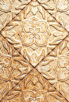 "Carmella, Color: Cornsilk, 6X6"" Decorative Tiles"