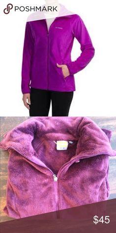 Merrell. Fuzzy. Comfy. Jacket. Comfy. Plush. Plum/purple. Hiking jacket Jackets & Coats Utility Jackets