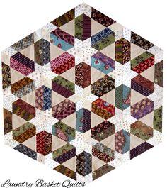 Laundry Basket Quilts - Jolene Star Star Quilt Patterns, Star Quilts, Mini Quilts, Quilt Blocks, Quilting Rulers, Hand Quilting, Machine Quilting, Laundry Basket Quilts, Place Mats Quilted