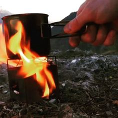 Alpine Tea Rush Madness!  Reposted from the awesome YouTube channel: PinewoodCH please check out Matt's awesome video's there!  #fireboxstove#camp#camping#hiking#bushcraft#campfire#adventure#wilderness#campstove#overlanding#forest#hobostove#cookingout#survival#preparedness#tea#alpine
