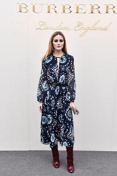 LFW : Olivia Palermo At London Fashion Week