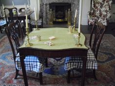 The card table in the Boudinot Room Table Cards, Dining Table, Rustic, Room, Furniture, Home Decor, Country Primitive, Bedroom, Decoration Home