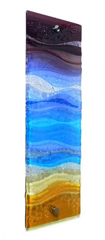 FUSED GLASS WALL ARTWORK PANEL Ref: JDCLASSBEA-6020