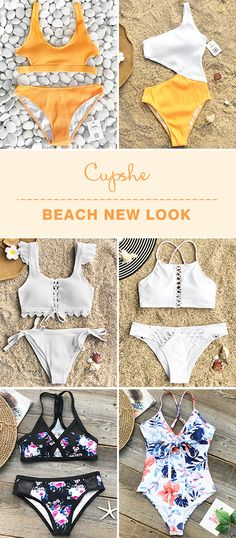 Time to update your wardrobe~ From seaside to the pool, these chic new pieces will be your new favourites. Fresh design, pretty prints & unique details, soft fabric and FREE shipping!